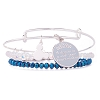 Disney Alex and Ani Charm Bracelet Set - Cinderella Dream