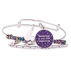 Disney Alex and Ani Charm Bracelet Set - Tinker Bell Believing is just