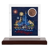 Disney Collector Coin Display - Magic Kingdom 45th Anniversary Limited