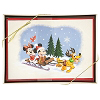 Disney Christmas Cards - Vintage Holiday Mickey & Friends - Set of 16