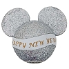 Disney Antenna Topper Ball - Happy New Year Banner - Silver