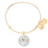 Disney Alex and Ani Charm Bracelet - Frozen - Olaf Bangle - Gold