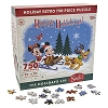 Disney Puzzle - Santa Mickey and Friends Retro Happy Holidays