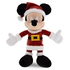 Disney Christmas Plush - Warm Winter Wishes Santa Mickey 7''