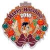 Disney Resort Holidays Pin 2016 - Coronado Springs The Flying Gauchito