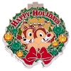 Disney Resort Holidays Pin 2016 - Ft Wilderness Campground Chip & Dale