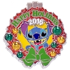 Disney Resort Holidays Pin 2016 - Polynesian Stitch