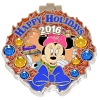 Disney Resort Holidays Pin 2016 - Pop Century Minnie Mouse