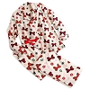 Disney Ladies Christmas Flannel Pajamas - Holiday Minnie Mouse Bows