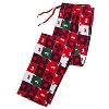 Disney Christmas Lounge Pants - Mickey Mouse Holiday Patchwork
