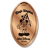 Disney Pressed Penny - Mickey Holding Checkered Flag
