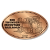 Disney Pressed Penny - Big Thunder Mountain Train