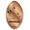 Disney Pressed Penny - Frontierland Mickey and Friends