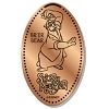 Disney Pressed Penny - Br'er Bear Splash Mountain