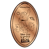 Disney Pressed Penny - Toy Story Buzz Lightyear Pointing