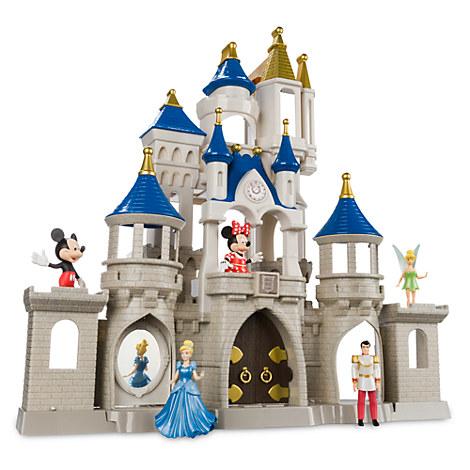 Your Wdw Store Disney Figurine Set Castle Play Set
