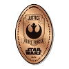 Disney Pressed Penny - Star Wars - Justice Rebel Forces Shield