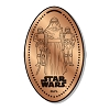 Disney Pressed Penny - Star Wars - Kylo Ren with Stormtrooper
