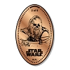 Disney Pressed Penny - Star Wars - Chewbacca - 2 of 8