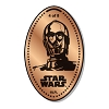 Disney Pressed Penny - Star Wars - C-3PO - 4 of 8