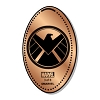 Disney Pressed Penny - Marvel - S.H.I.E.L.D. Logo - 3 of 8
