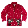 Disney WOMENS Jacket - Christmas Holiday Mickey and Minnie Mouse