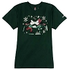 Disney Adult Shirt - Holiday Mickey and Minnie Skate Kiss Tee