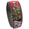 Disney MagicBand Bracelet - Christmas Mickey and Pals Holiday Tree