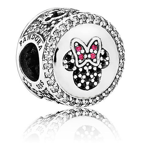 Disney Pandora Charm Mickey And Minnie Mouse Icon Limited