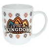 Disney Coffee Cup Mug - Disney's Animal Kingdom Lodge - Crown Logo - White