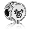 Disney PANDORA Charm - Mickey and Minnie Mouse Icon - Limited