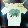 Disney CHILD Shirt - Christmas Goofy's Festive Fiasco Holiday Tee