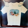 Disney ADULT Shirt - Christmas Mickey, Minnie and Pluto Sleigh Ride