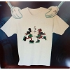 Disney CHILD Shirt - Christmas Mickey and Minnie Skate Kiss Holiday