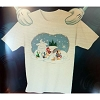 Disney Child Shirt - Christmas Donald Snowman and Nephews Holiday Tee