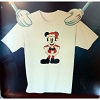 Disney Child Shirt - Christmas Pie-Eyed Santa Mickey Holiday Tee
