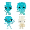 Disney Funko Pop Vinyl Figures - Haunted Mansion - Corrected Set
