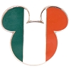 Disney Mickey Icon Pin - Global Ears Icon - Ireland Flag