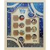 Disney Very Merry Christmas Party - 2016 Framed Pin Set with Santa