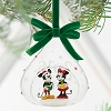 Disney Sketchbook Ornament - Mickey and Minnie Mouse - Holiday 2016