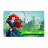 Disney Collectible Gift Card - Dream Big - Merida