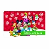 Disney Collectible Gift Card - Mickey and Friends Holiday Cheer