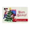 Disney Collectible Gift Card - Mickey and Minnie Happy Holidays Retro