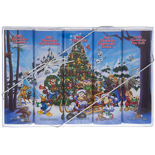 your wdw store disney goofy candy co disney holiday chocolate bar set of 5. Black Bedroom Furniture Sets. Home Design Ideas