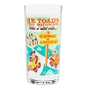 Disney Tumbler Glass - Mr. Toad's Wild Ride - Retro Glass Tumbler