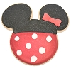 Disney Prepared Food - Boardwalk - Minnie Mouse Cookie