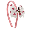 Disney Headband Hat - Minnie Mouse Pink with Bow for Girls