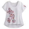 Disney LADIES Shirt - Mickey Flag Icons Silhouette