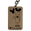 Disney Key Chain Ring - Walt Disney World Mickey Ears Tag - Mom - I Heart Vacation