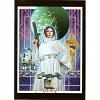 Disney Postcard - Princess Leia -Savior of Yavin by Joe Corroney